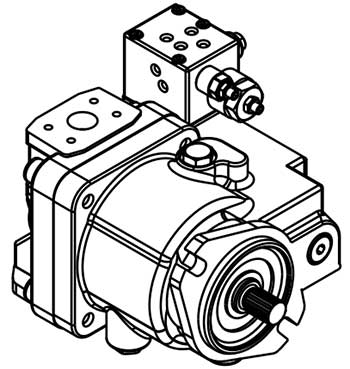 Terex-Piston-Pump,-Terex-Parts